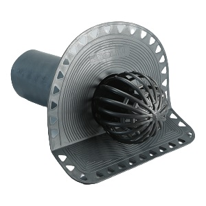Парапетная воронка переливная 100х280 мм