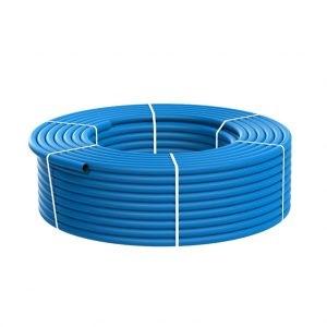 Водопроводная ПЭ труба ПНД 40 ∅, S=3.0, PN10, SDR 13.6, голубая (пищевая) – ПЭ 80
